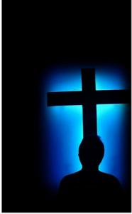 Olhando para cruz