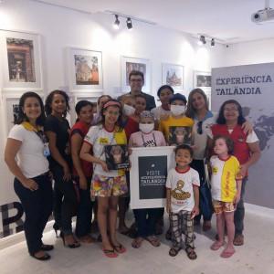 """Exposição """"Experiência Tailândia"""" segue até 23 de agosto no Between Food & Gallery"""