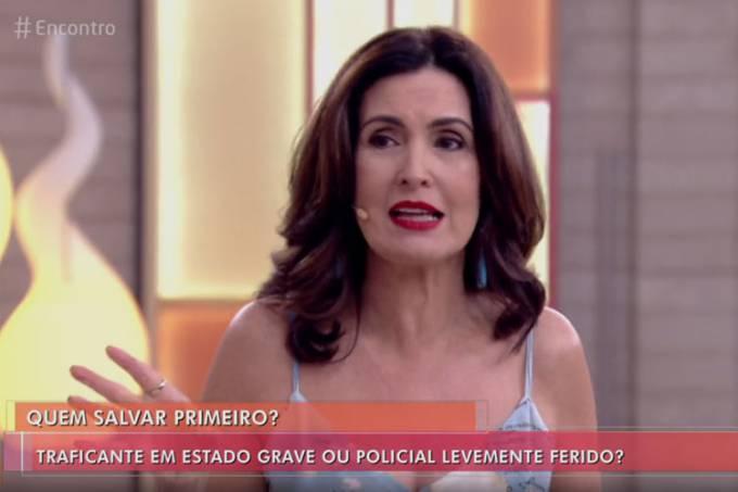 Fátima Bernardes realiza enquete polêmica