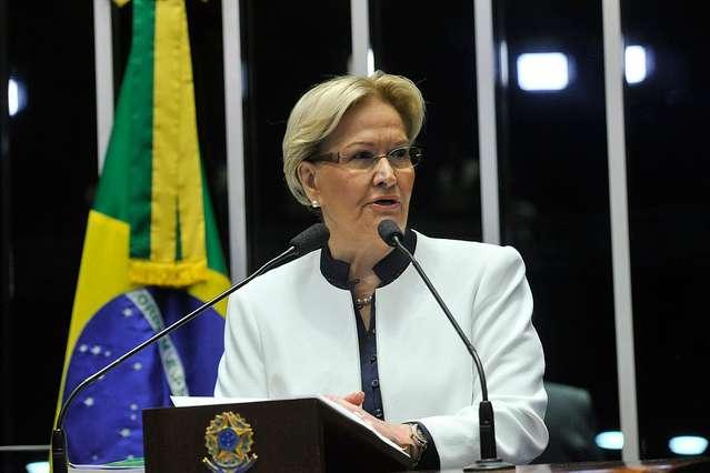 A senadora Ana Amélia disse que o povo gaúcho não admite neutralidade